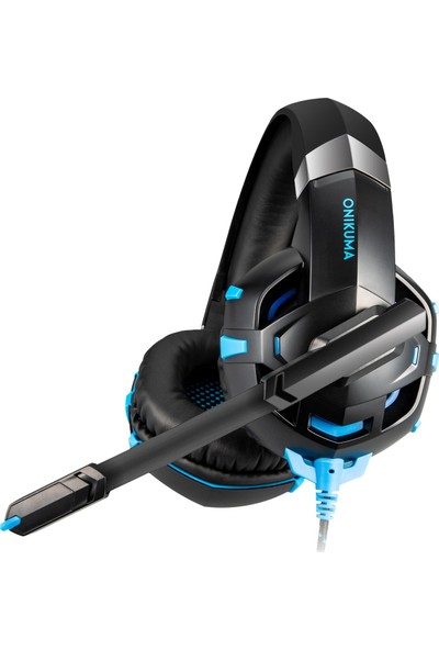 Onikuma K2 Pro LED Gaming Kulaklık Mavi PC/PS4/XBOX