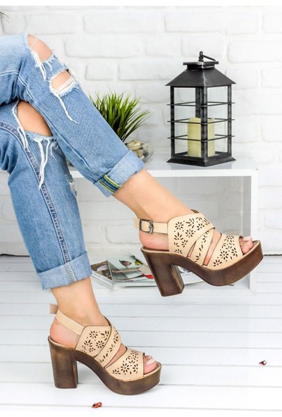 Awon Sofia Krem Günlük Ayakkabı 36
