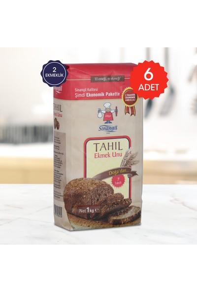 Sinangil Tahıl Ekmek Unu 1 kg 6'lı