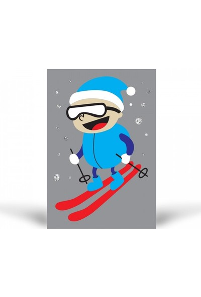 Artikel KB-352 Kayakçı Simli Tuz Boyama