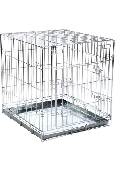 Zooplus Çift Kapılı Taşıma Kafesi 89 x 60 x 66 cm