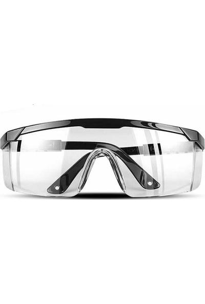 Makro Yapı Koruyucu Gözlük Şeffaf 3'lü