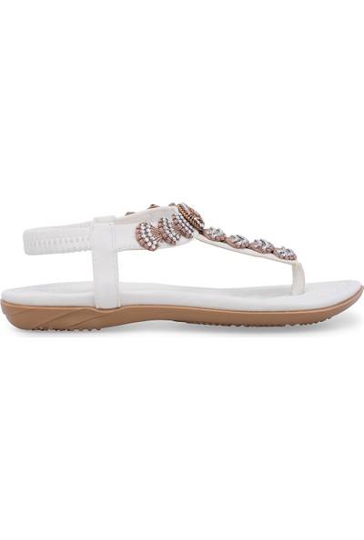 Guja Parmak Arası Sandalet Kadın Sandalet 38919Y2501