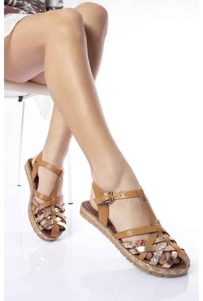 Modagon Hatfield Deri Sandalet Mix2