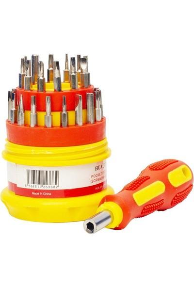Powermaster 35383 Değiştirilebilir Uç Tornavida Seti