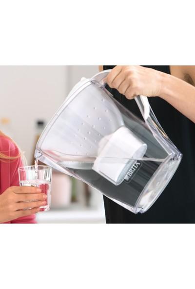 BRITA Marella XL Filtreli Su Arıtmalı Sürahi - Yedek Filtreli - Beyaz