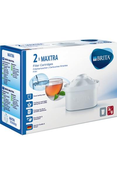 BRITA MAXTRA Su Arıtma Sürahi Yedek Filtresi -İkili