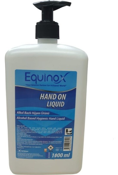 Equinox Alkol Bazlı El Dezenfektanı 1 lt