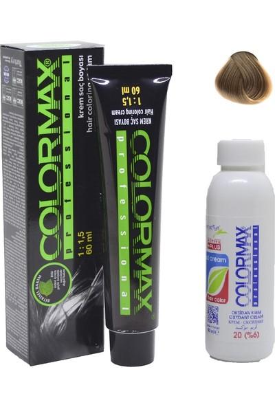 Colormax 8.0 Yoğun Açık Kumral + Oksidan Krem 90 ml