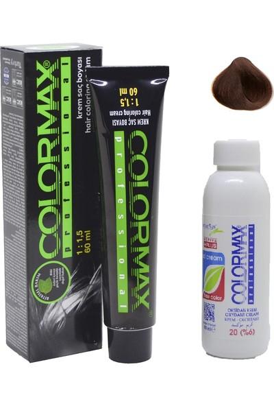 Colormax 5.34 Çikolata Kahve + Oksidan Krem 90 ml