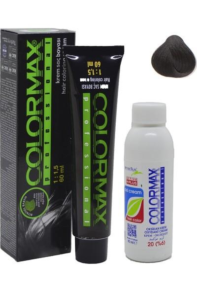 Colormax 4 Kestane + Oksidan Krem 90 ml