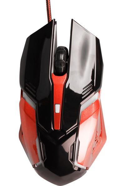 MF Product Strike 0111 Kablolu Rgb Gaming Mouse Kırmızı