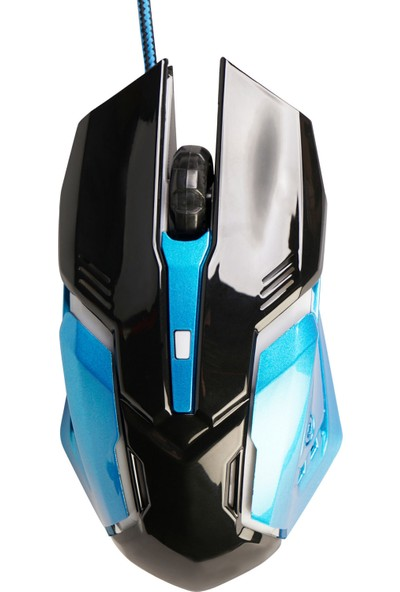 MF Product Strike 0111 Kablolu Rgb Gaming Mouse Mavi