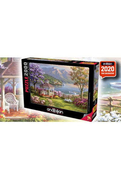 Anatolian Perre Puzzle 2000 Parça Kristal Göl