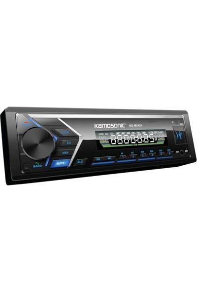 Kamosonic KS-MX451 4X50W Mp3 Sd Aux Bluetooth Teyp