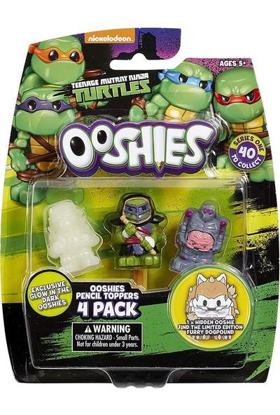 Nickelodeon Ooshies Ninja Turtles 4'lü Figür Paket 75958