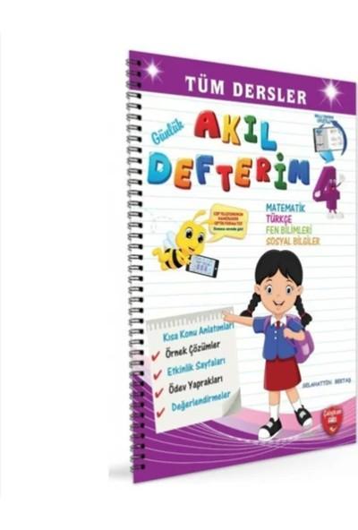 Çalışkan Arı Yayınları 4. Sınıf Günlük Akıl Defterim Tüm Dersler