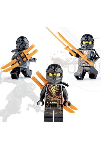 Llegom Ninja Go Parçalı Set Uyumlu Karakter Seti 12'li