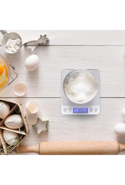 Knmaster mt Serisi 3000G / 0,1g Hassas Dijital Mutfak Tartısı