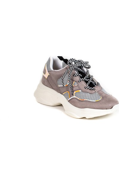 Baggy Walk Sofia Gri Hologram Kadın Sneaker