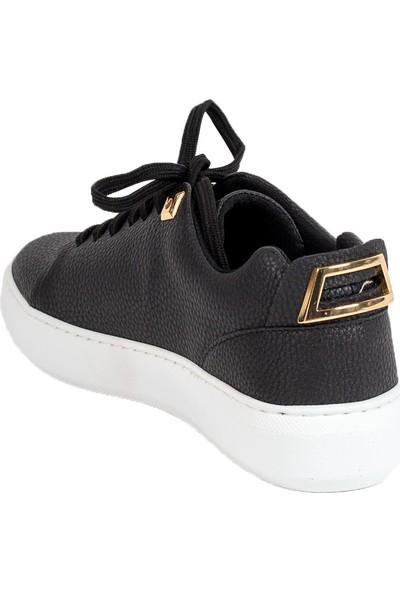 Baggy Walk Cardin Siyah Kadın Sneaker