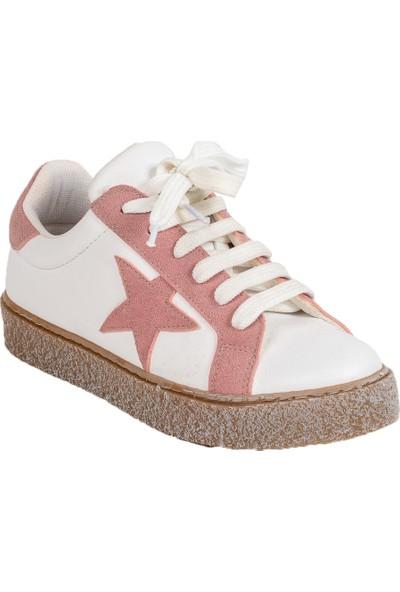 Baggy Walk Star Pembe Kadın Sneaker