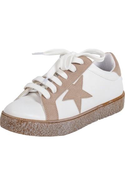 Baggy Walk Star Gri Kadın Sneaker