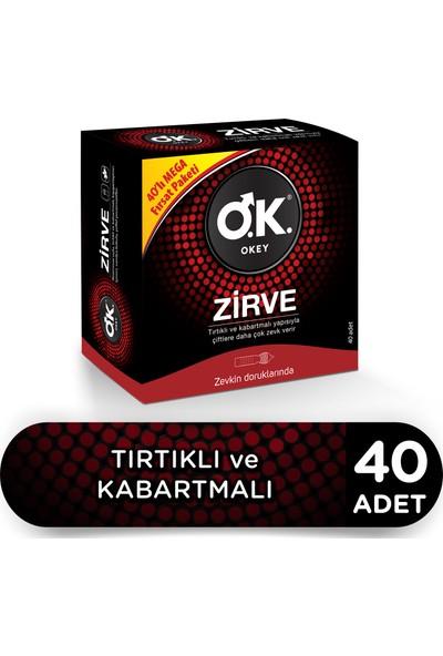 Okey Zirve 40'lı Prezervatif Avantaj Paketi