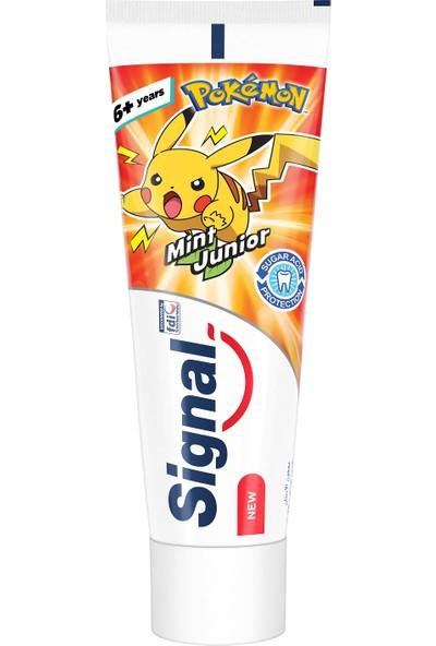 Signal Junior 7-13 Yaş Nane Aromalı Diş Macunu 75 ml