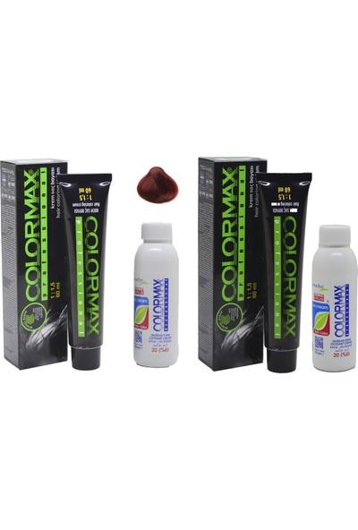Colormax 8.66 Nar Kızılı + Oksidan Krem 90 ml 2'li