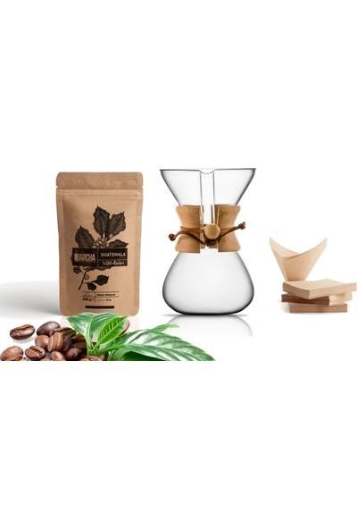 Escobari̇sta Pour Over 3'lü Kahve Demleme Seti