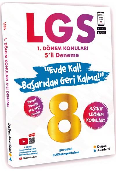 Doğan Akademi Lgs 1.Dönem Konuları 5'Li Deneme