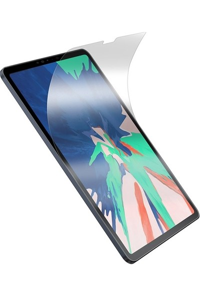 Baseus Apple iPad Pro 11 İnch 2018 Paper Like Film Darbe Emici Pet Ekran Koruyucu