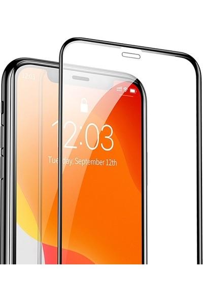 Baseus SGAPIPH61S-KC01 Apple iPhone 11 3D full Cam Ekran Koruyucu 2 adet SGAPIPH61S-KC01 Siyah