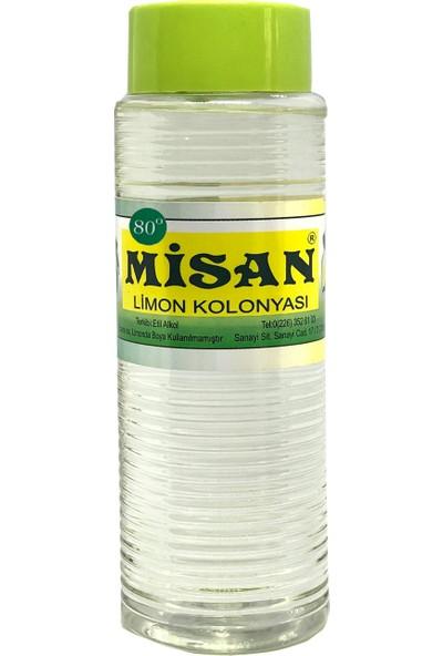 Misan Limon Kolonyası 80 Derece 500 ml
