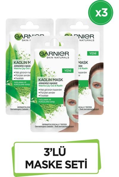 Garnier Volkanik Kaya & Kül Içeren Gözenek Sıkılaştırıcı Maske 8 ml 3'lü Set