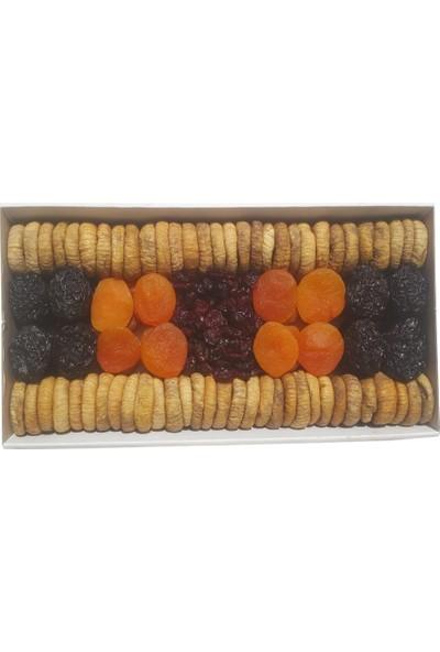 Snacksoft Iftariyelik Büyük Kuru Meyve Tabağı 2500 gr
