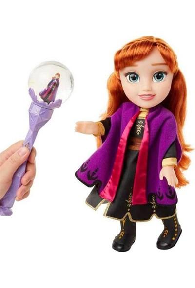 Jakks Pacific Disney Frozen 2 Anna Bebek ve Müzikli Asa