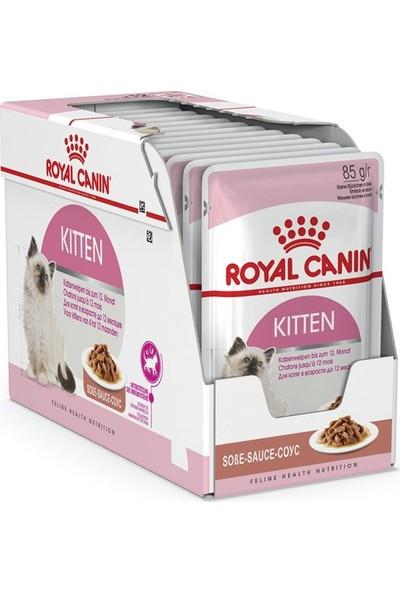 Royal Canin Kitten Soslu Yaş Kedi Maması 85 gr 6'lı