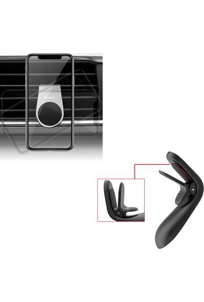 Yesido C64 Araç Içi Telefon Tutucu Manyetik ve Klipsli