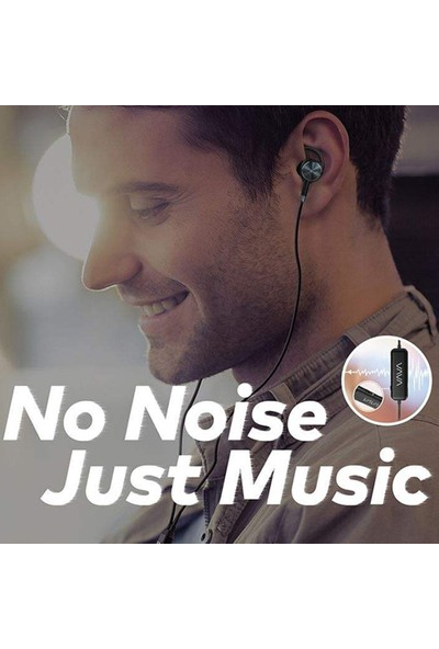 CoverZone Vava Moov 15 Anc Aktif Gürültü Engelleyici Kablolu Kulak İçi Kulaklık