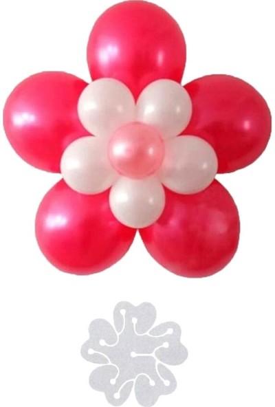 Acar Süs Balon Çiçek Yapma Aparatı Küçük 6,5 cm 6'lı