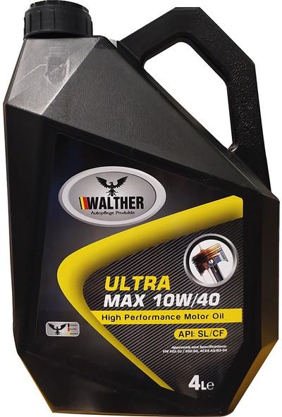 Walther Ultra Max Motor Yağı 10W-40 4 lt