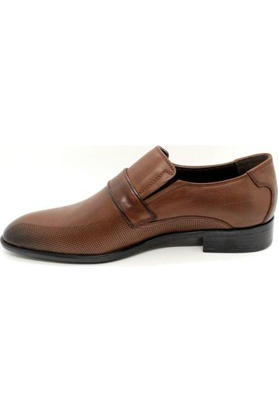 Serdar Yeşil Erkek Taba Deri Klasik Ayakkabı