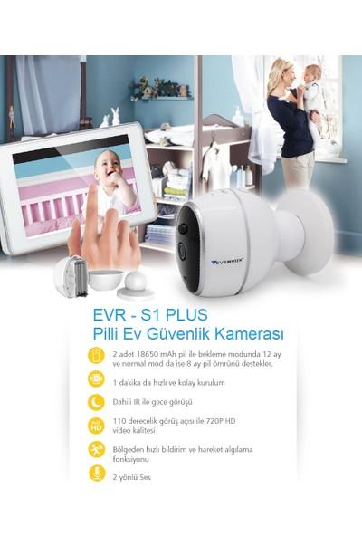Evervox EVR-S1 Plus 1.0MP Wi-Fi Akıllı Kamera
