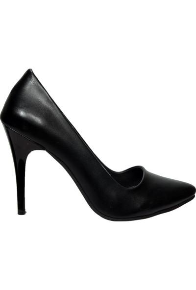 Ceylan Siyah Topuklu Stiletto