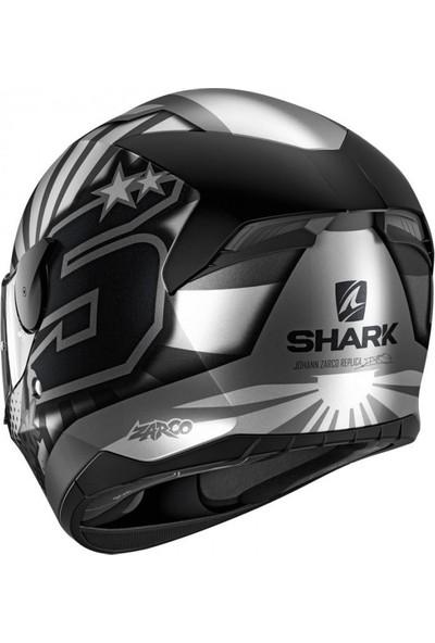 Shark D-Skwal (Ledsiz) Zarco Asa Mat Kapalı Kask