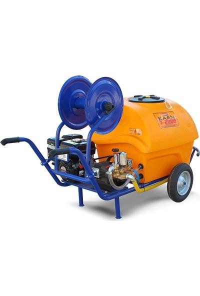 Kaan T 200 B Benzinli Ilaclama Makinesi 200 lt 7 Hp