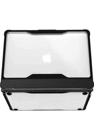 """MacBook Air Kılıf OutDoor Darbe Emici Kılıf A1932 A2179 13"""" Uyumlu Type-C Girişli Kılıf"""