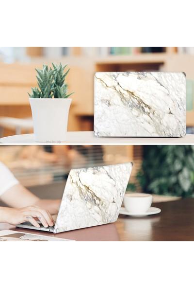 Mcstory MacBook Air Kılıf 13inc HardCase A1369 A1466 Uyumlu Mermer Desenli Kılıf 08NL